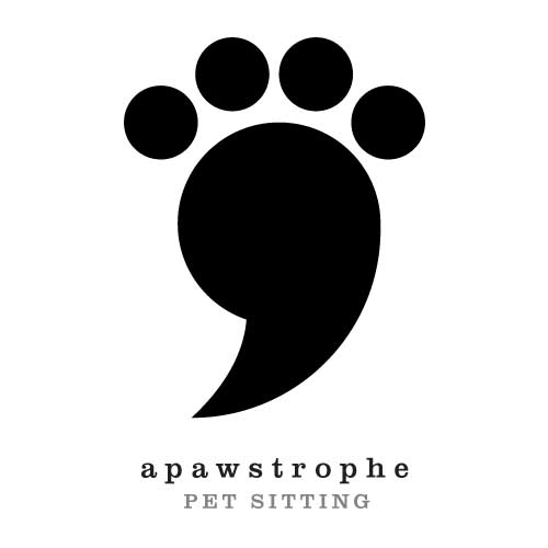 Apawstrophe Pet Sitting logo