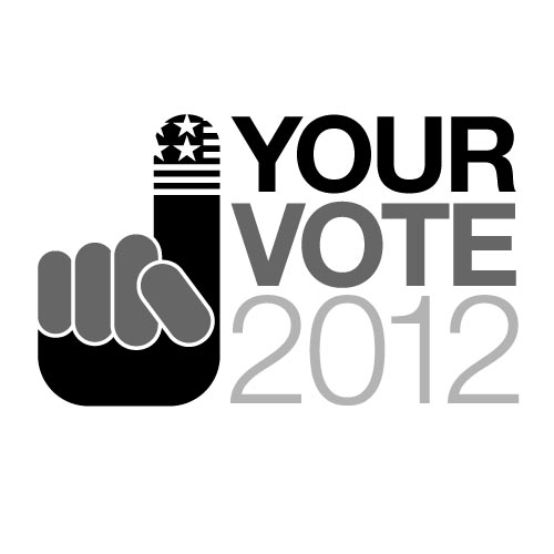 Your Vote 2012 logo